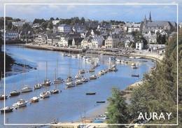 56 Auray Le Port De Saint Goustan (2 Scans) - Auray