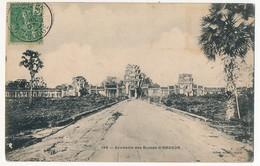 CPA - CAMBODGE - 135 - Souvenir Des Ruines D' ANGKOR - Cambodge