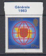 """Jersey 1983 General Assembly 1v (margin """"Générale 1983"""") ** Mnh (44227) - Jersey"""