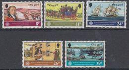 Jersey 1983 World Communication Year 5v ** Mnh (44227A) - Jersey