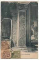 CPA - CAMBODGE - ? - Souvenir Des Ruines D' ANGKOR - Cambodge