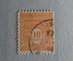 10 Frs ARC DE TRIOMPHE N°629 OBLITERE - 1944-45 Arc Of Triomphe