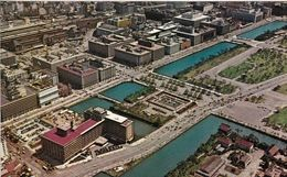 1 AK Japan * Marunouchi - Ein Geschäftsviertel Im Zentrum Der Hauptstadt Tokio - Luftbildaufnahme * - Tokyo