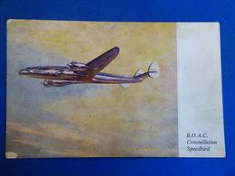 BOAC   CONSTELLATION - 1946-....: Era Moderna