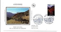 ANDORRE FDC 2006 PARC NATUREL VALLEE DE SORTENY - FDC