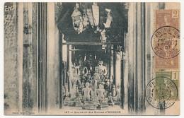 CPA - CAMBODGE - 147 - Souvenir Des Ruines D' ANGKOR - Cambodja