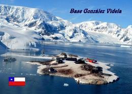 Antarctica Gonzalez Videla Base Chile New Postcard Antarktis AK - Sonstige