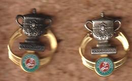 Pin's Arthus Bertrand Roland Garros Coupe Simple Dames (coloris Différents) - Arthus Bertrand