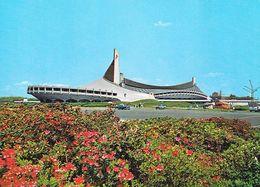 1 AK Japan * Yoyogi Mehrzweckhalle In Tokyo - Erb. Für Die Olympiade 1964 Und Berühmt Für Ihre Hängedachkonstruktion * - Tokyo