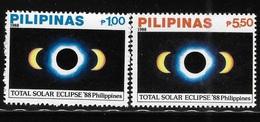 Philippines 1988 Solar Eclipse MNH - Filippine