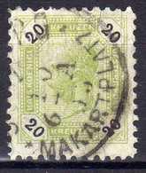 Österreich 1891 Mi 63 A, Zähnung 10, Gestempelt [280316XIV] - Usati