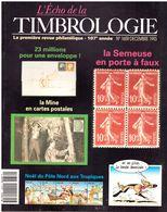 REVUE L'ECHO DE LA TIMBROLOGIE N°1659 De Décembre 1993 - Magazines