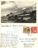 Indonesia, CELEBES SULAWESI, Bridge Of Sungguminasa (1939) RPPC Postcard - Indonesië