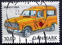 Denmark 2002   Minr.1315 RENAULT - 1984 (O)   ( Lot  L 2950) - Usado