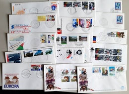 105 Enveloppen, De Meeste FDC - FDC