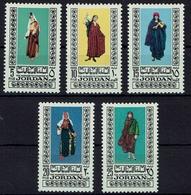 Jordanien Jordan 1975 - Trachten  Folk Costume - MiNr 952-956 - Kostüme
