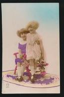 CARTE PHOTO   BELLE FILLETTES  MOOIE MEISJES - Enfants