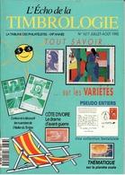 REVUE L'ECHO DE LA TIMBROLOGIE N°1677 De Juillet-Août 1995 - Magazines