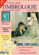 REVUE L'ECHO DE LA TIMBROLOGIE N°1679 De Octobre 1995 - Magazines