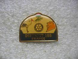 Pin's Du District 168 (France) - Villes