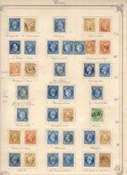 Très Belle Collection De La Totalité Des GC, Pc Et Rempl D'A.L. De L'EURE Cote (sur Lettre) 7875 + 3800 (A.L.) =11675 Eu - Marcophilie (Timbres Détachés)