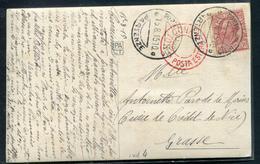 ITALIE - N°77 / CP OBL. PORTO MAURIZIO LE 15/8/1915 AVEC CENSURE DE BOLOGNA EN ROUGE POUR GRASSE - TB - 1900-44 Vittorio Emanuele III