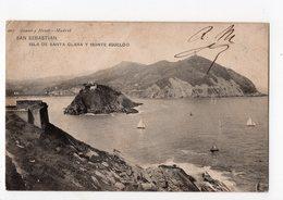 SAN SEBASTIAN - Isla De SANRA CLARA Y Monte Igueldo - Guipúzcoa (San Sebastián)