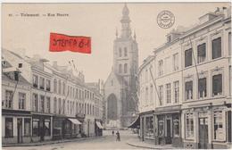 Tienen, Thienen, Tirlemont,De Nieuwstraat , TOPKAART!!!! - Tienen