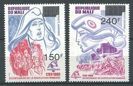 250 MALI 1989 - Yvert 555 Et 557 Surcharge - Revolution Francaise - Neuf ** (MNH) Sans Charniere - Mali (1959-...)