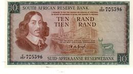 South Africa  P.113b  10 Rand 1976 Unc - Sudafrica