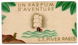 Calendrier    Parfumé  L T  Pivert   De 1936 - Calendarios
