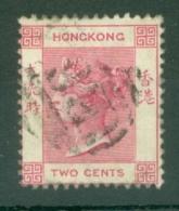 Hong Kong: 1882/96   QV     SG32a     2c   Rose-pink  Used - Hong Kong (...-1997)