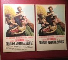 Boccasile  Riunione Adriatica Sicurta 2 Carta Assorbente Anni 30/40 - Agricoltura