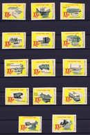 Lietuva Collection Of 28 Promotional Cinderellas Not Used / No Gum Also Indivudual Scanned - Litauen