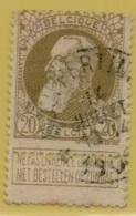 +MW-4128     *  HOUPERTINGEN   *   OCB 75  Sterstempel     COBA   +15 - 1905 Grosse Barbe