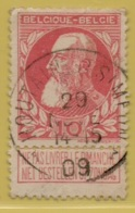 +MW-4129     *  HOUTAIN-ST-SIMEON  *   OCB 74  Sterstempel     COBA   +8 - 1905 Grosse Barbe
