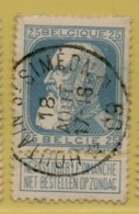 +MW-4131     *  HOUTAIN-ST-SIMEON  *   OCB 76  Sterstempel     COBA   +8 - 1905 Grosse Barbe
