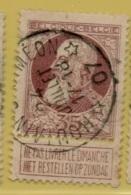 +MW-4132      *  HOUTAIN-ST-SIMEON  *   OCB 77  Sterstempel     COBA   +8 - 1905 Grosse Barbe