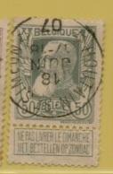 +MW-4133      *  HOUTAIN-ST-SIMEON  *   OCB 78  Sterstempel     COBA   +8 - 1905 Grosse Barbe