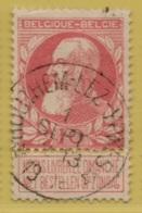 +MW-4136      *  HOUTHEM LEZ YPRES*   OCB 74  Sterstempel     COBA   +30 - 1905 Grosse Barbe