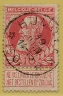 +MW-4138      *  HUMBEEK   *   OCB 74  Sterstempel     COBA   +10 - 1905 Grosse Barbe