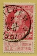 +MW-4139      *  ITTEGEM   *   OCB 74  Sterstempel     COBA   +15 - 1905 Grosse Barbe