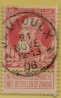 +MW-4142      *  JAMIOULX  *   OCB 74  Sterstempel     COBA   +8 - 1905 Grosse Barbe