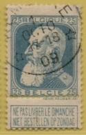 +MW-4144      *  KEMSEKE   *   OCB 76  Sterstempel     COBA   +12 - 1905 Grosse Barbe