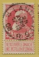 +MW-4147      *  LANDELIES   *   OCB 74  Sterstempel     COBA   +10 - 1905 Grosse Barbe