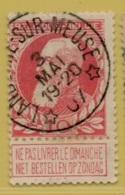 +MW-4148      *  LANDENNE SUR MEUSE   *   OCB 74  Sterstempel     COBA   +10 - 1905 Grosse Barbe