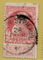 +MW-4153      *  LEEUW ST PIERRE     *   OCB 74  Sterstempel     COBA   +80 - 1905 Grosse Barbe