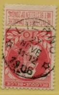 +MW-4154      *  LIERNU     *   OCB 74  Sterstempel     COBA   +8 - 1905 Grosse Barbe
