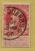 +MW-4158      *  ERPS-QUERBS     *   OCB 74  Sterstempel     COBA   + 8 - 1905 Grosse Barbe