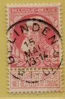 +MW-4166      *  GELINDEN    *   OCB 74  Sterstempel     COBA   + 15 - 1905 Grosse Barbe